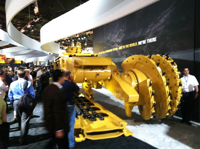 Caterpillar Underground Longwall Shearer