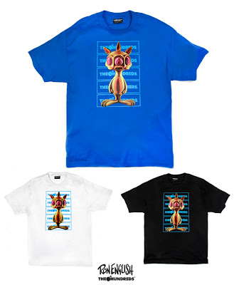 "Ron English x The Hundreds T-Shirt Collection - ""Rabbit"""