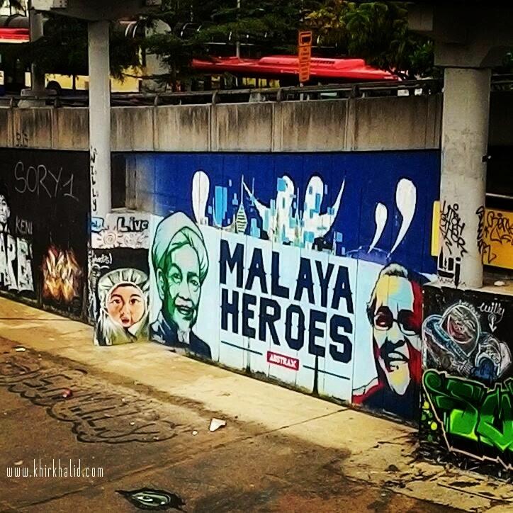 Nik Aziz, Mahathir Mohamed, Malaya Heroes