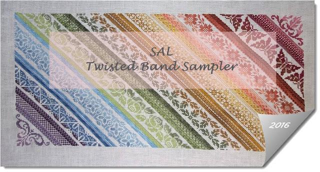 Twisted Band Sampler – przygotowanie (1)