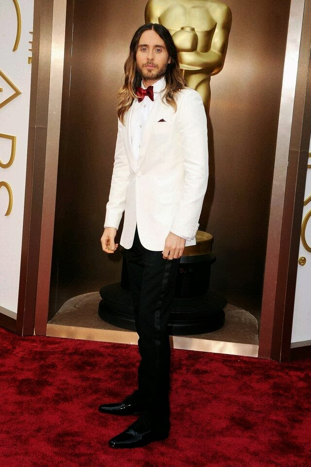 Jared Leto in Saint Laurent - 86th Annual Academy Awards