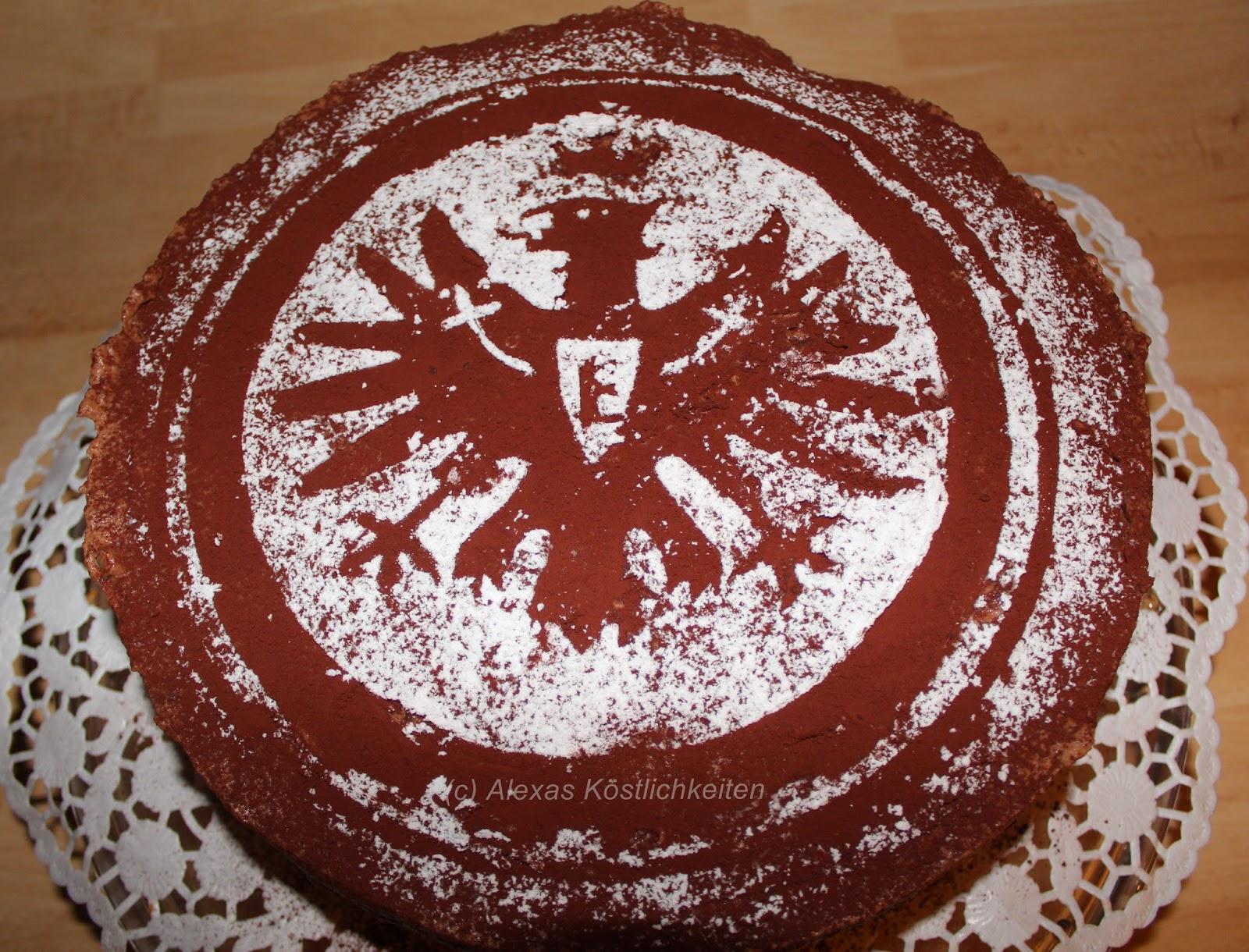 Alexa s k stlichkeiten geburtstagsgeschenk eintracht for Kuchen frankfurt