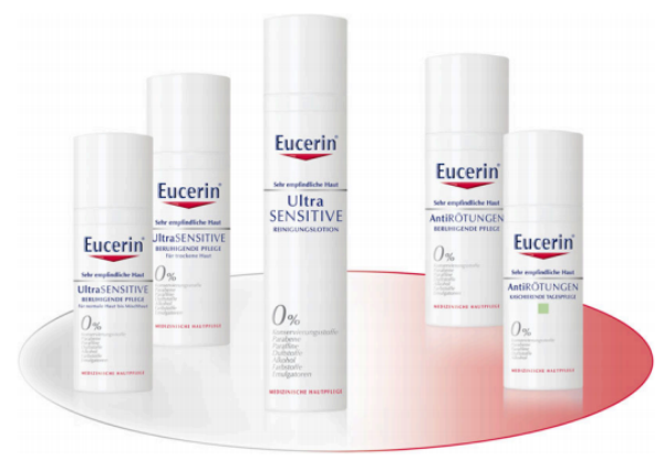 Eucerin Ultra SENSITIVE und Anti RÖTUNGEN