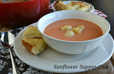 Sunflower Supper Club's Cream of Tomato Soup