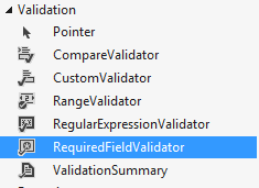 RangeValidator validation control example in asp.net