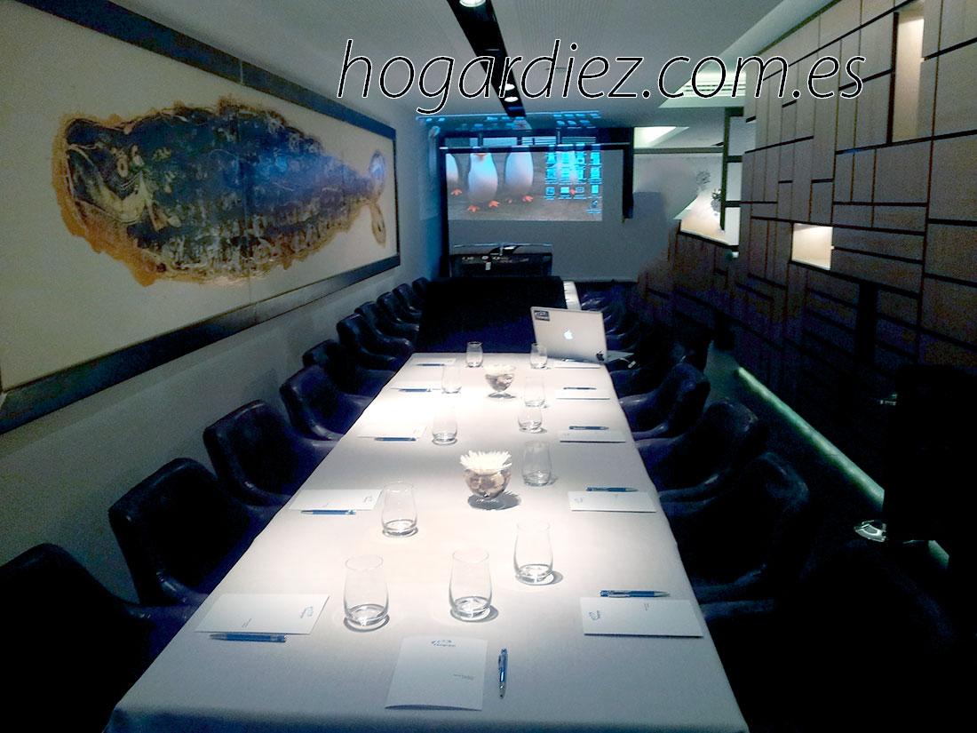 Hogar diez una visita al restaurante de sergi arola - Restaurante sergi arola madrid ...