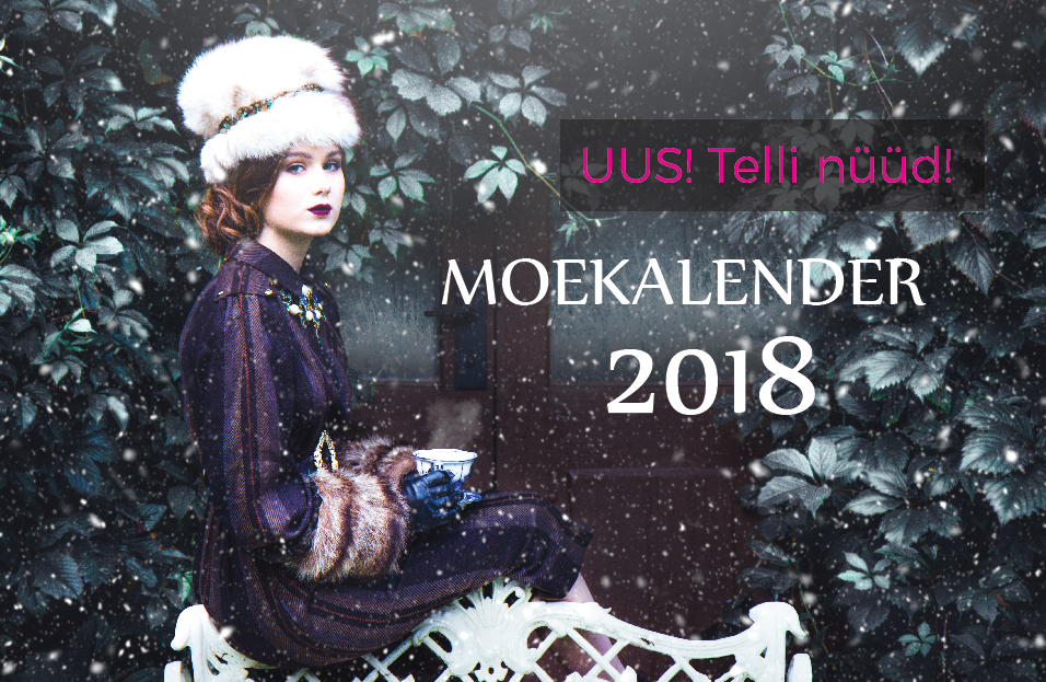 Use code kelly5 and get YU FASHION CALENDAR for 4,99€ (full price is 14,90€)!