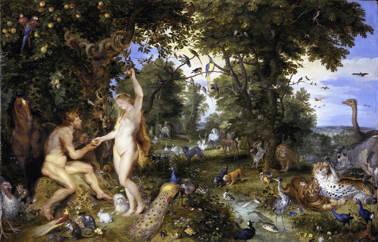 Jan Breughel & Peter Paul Rubens: The Garden of Eden (1615 ...