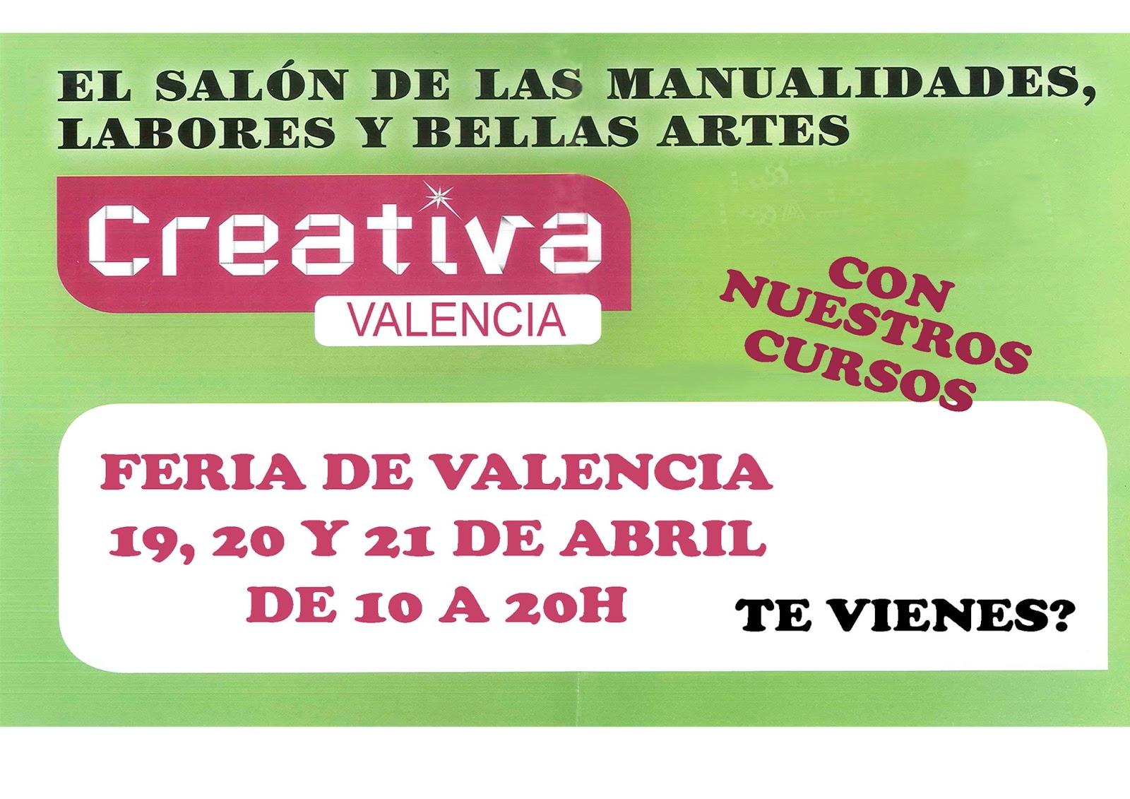 Blog Decoman Bellas Artes Y Manualidades Y Tambi N En Valencia  ~ Cursos De Manualidades En Valencia