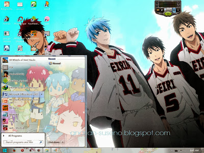 Download Theme Windows 7 Kuroko no Basuke