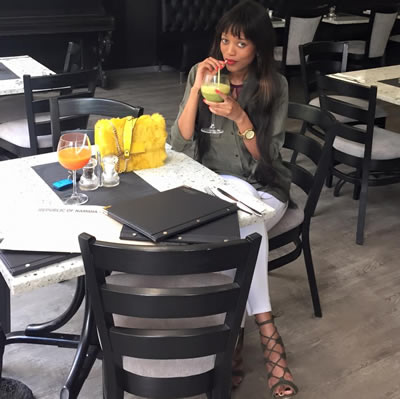Namibia Model Maria Nepembe BBAfrica 2016