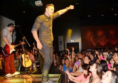 Joey Montana en concierto
