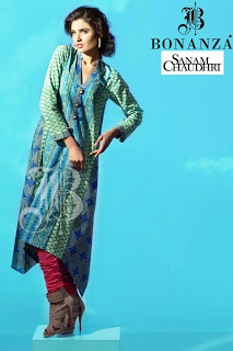 Sanam Chaudhri Eid Collection for Bonanza