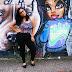 Look: Grafite, Trampo e Flores