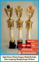 contoh tulisan di piala, daftar harga trophy, duplikat piala