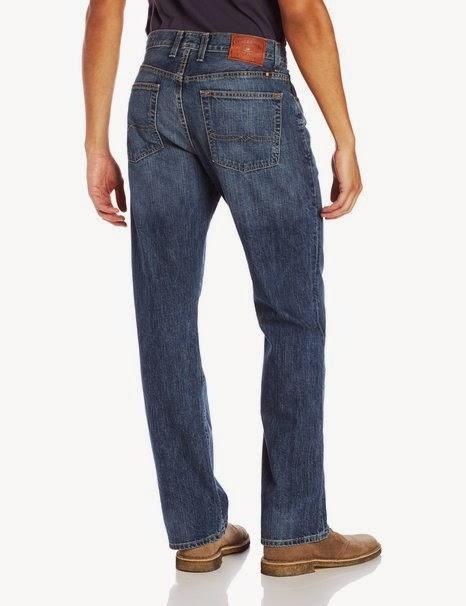 Lucky Brand Men's 181 Relaxed Straight-Leg Jean in Dellwood