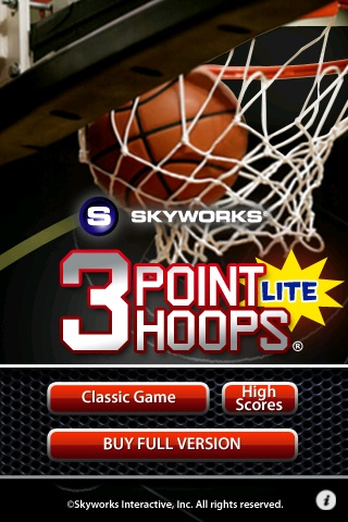 3 Points Hoops Basketball Free App Game By Skyworks