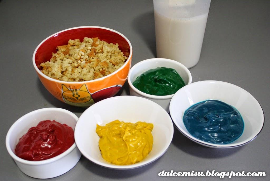 helado, multicolor, horchata, bizcocho, M&M's, decoración, dulcemisu, palitos helado