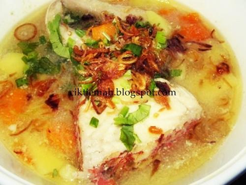 Resepi masakan Sup ikan Merah