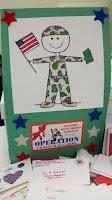 Operation Christmas Card Giant Card