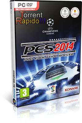Download Capa 3D Game Pro Evolution Soccer 2014 PC