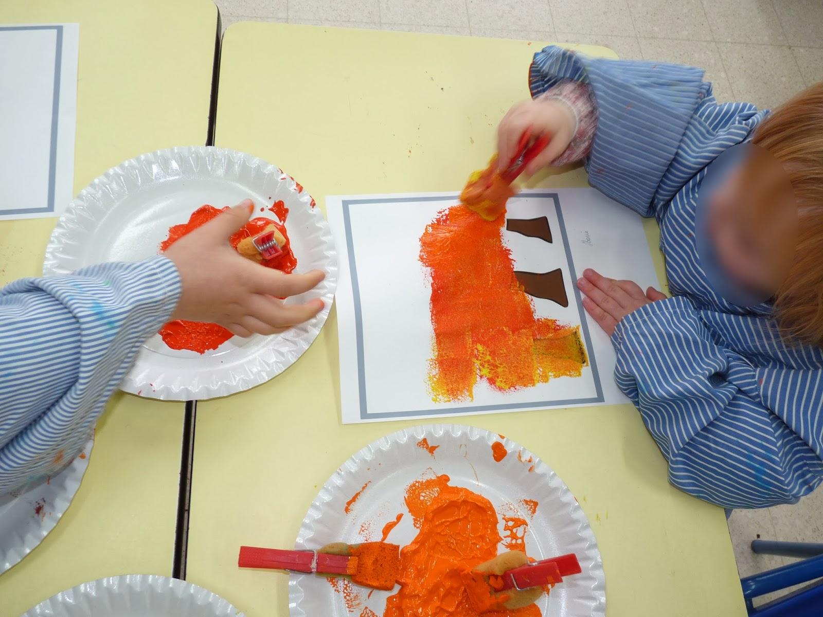 La classe de sof novembre 2013 for Technique de peinture murale a l eponge