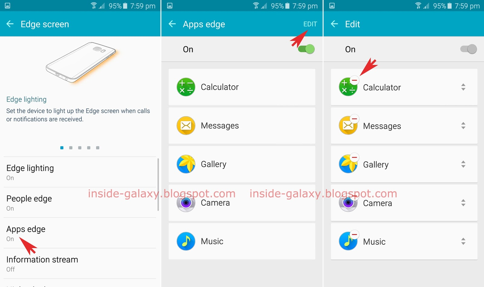 How To Delete Or Reorder Apps In The Apps Edge Feature? You Can Do So By  Using Two Different Methods: From The Settings Menu And From The Edge  Screen