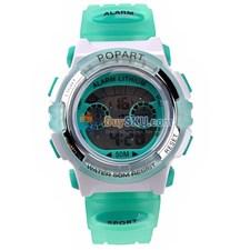 310 Multifunctional 50M Waterproof Children Sports Wrist Watch with Alarm Calendar Plastic Wristband Color Optional