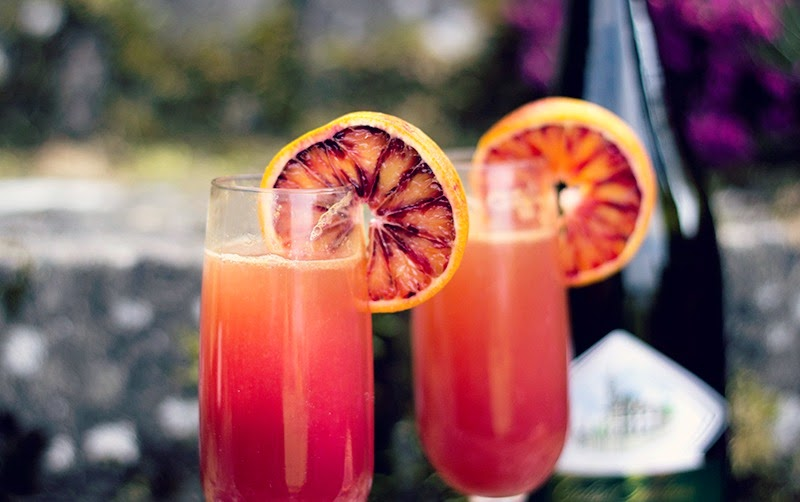 ... Spice and Fire: Toasting Joffrey's Wedding with Blood Orange Mimosas