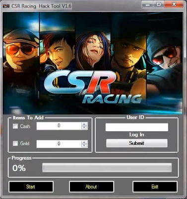 CSR-Racing Hack - Free Cash + Gold | Latest Update August | 2014