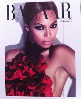 Beyonce-HB-2 >Beyoncé en couverture du UK Harper's Bazaar September Issue