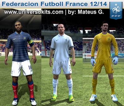 FFF FIFA 12: Uniforme FF França 12/13