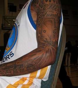 tattoo lifestylez golden state warriors monta ellis new torso tattoo. Black Bedroom Furniture Sets. Home Design Ideas