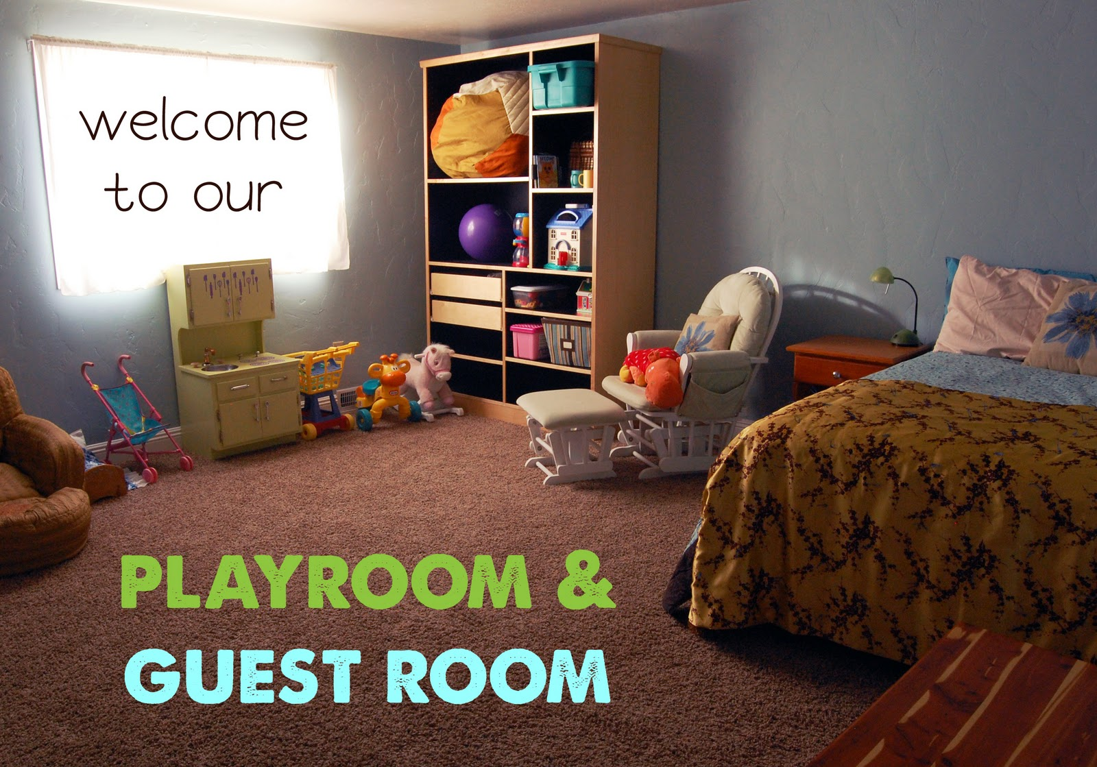 Playroom and Guest Room title=