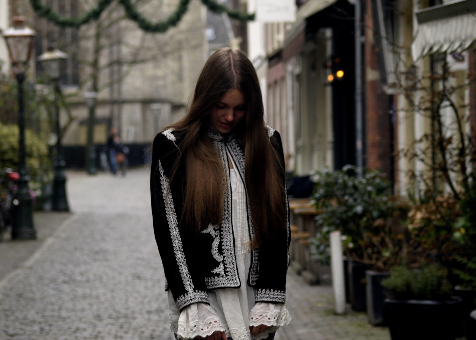 paris collection, h&m, blouse, fashion, detail, mode, cold weather, frozen