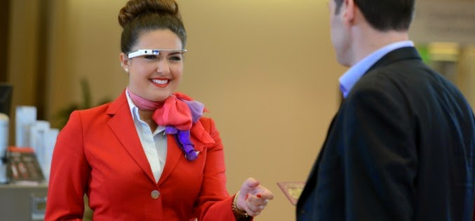 google glass aeroporto londra heathrow