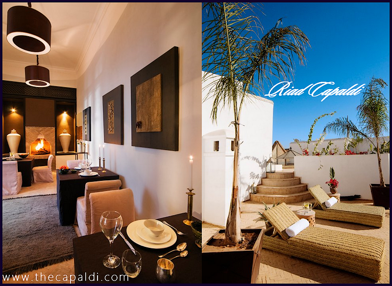 Blog of the capaldi hotel riad capaldi marrakech for Design hotel marrakech