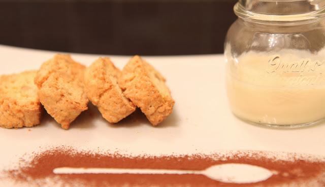 LEI: Cantuccini con crema di marsala