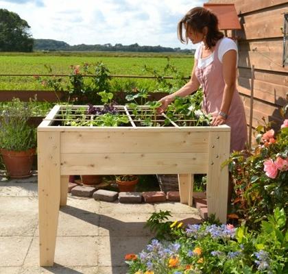 Um jardim para cuidar hortas na varanda porque n o - Moderne tuinier ...