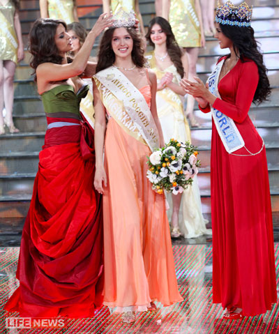miss russia 2012 winner elizaveta golovanova