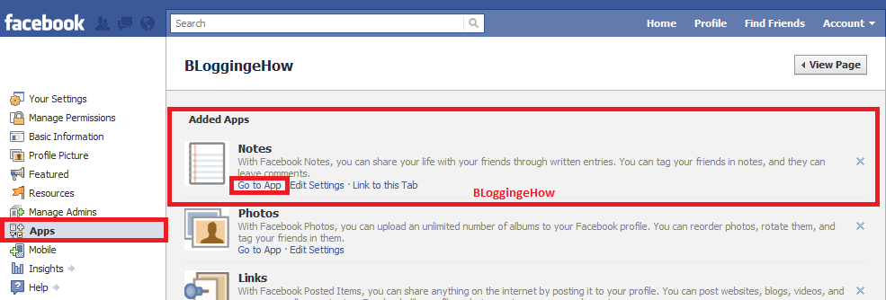 how to add page link in facebook post