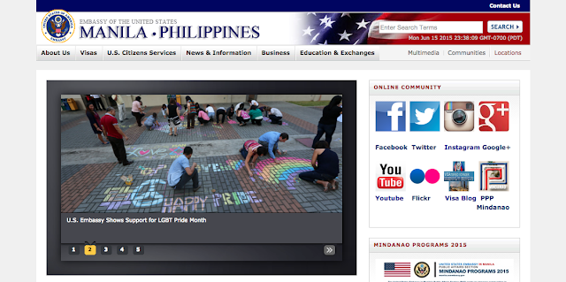 US Embassy in Manila Website | 7 Go-to Sites for Filipinos Immigrating as Spouses, Partners of US Nationals