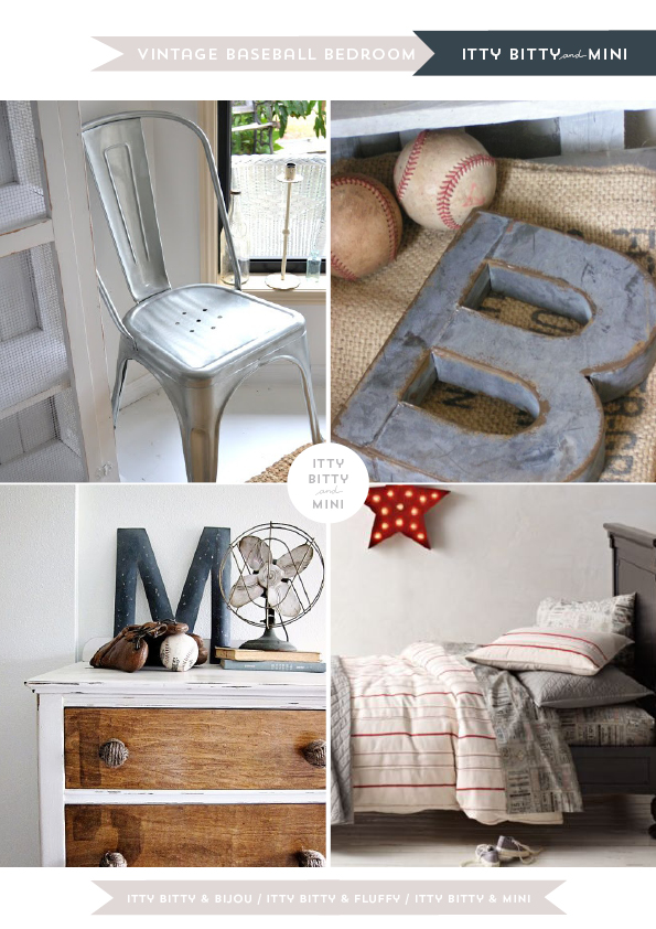 Itty Bitty Mini Decor Inspirations Boys Vintage