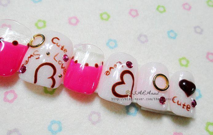 Nail Art Designs & Ideas | Cappuccino-color-nails-design