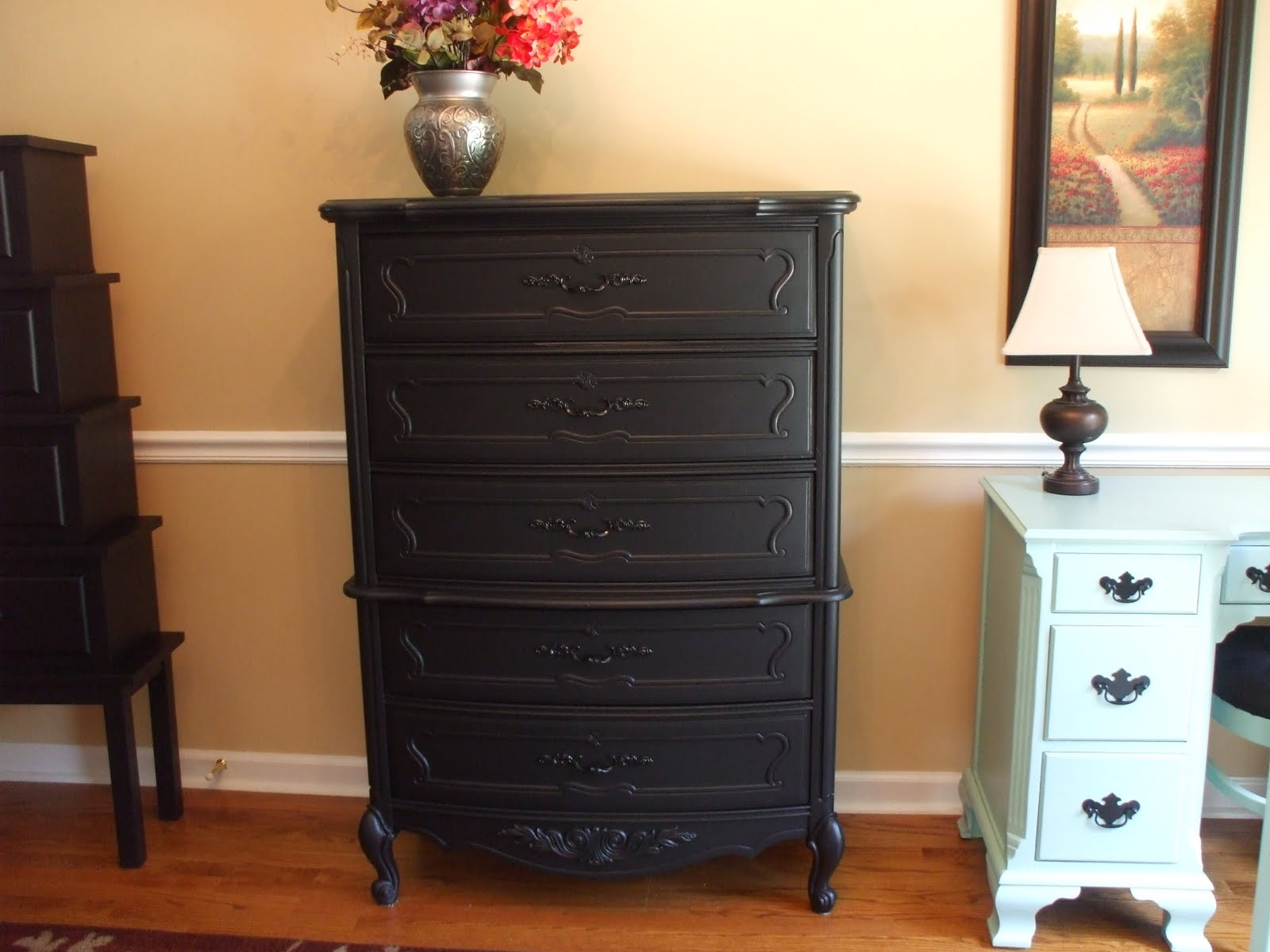Painting Old Wood Furniture Furniture Design Ideas