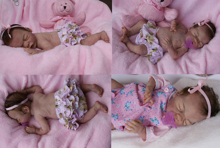 Thistleberry Babies: Aliona No 1 Solid Silicone Full Body baby