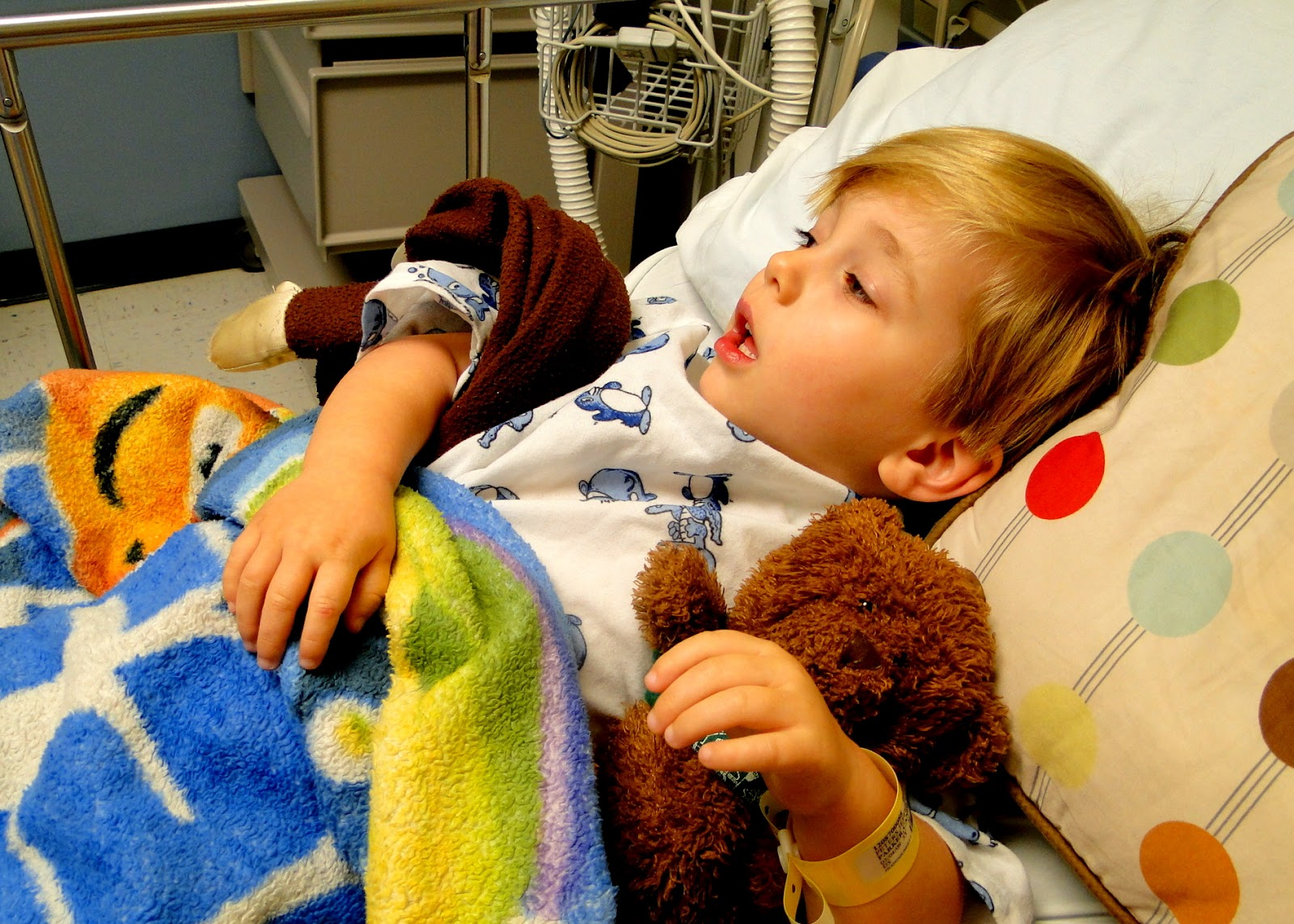 The Journey of Parenthood...: Kye's Surgery ~ Meatotomy