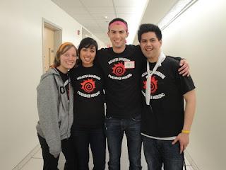 Some of the wonderful team leader volunteers.