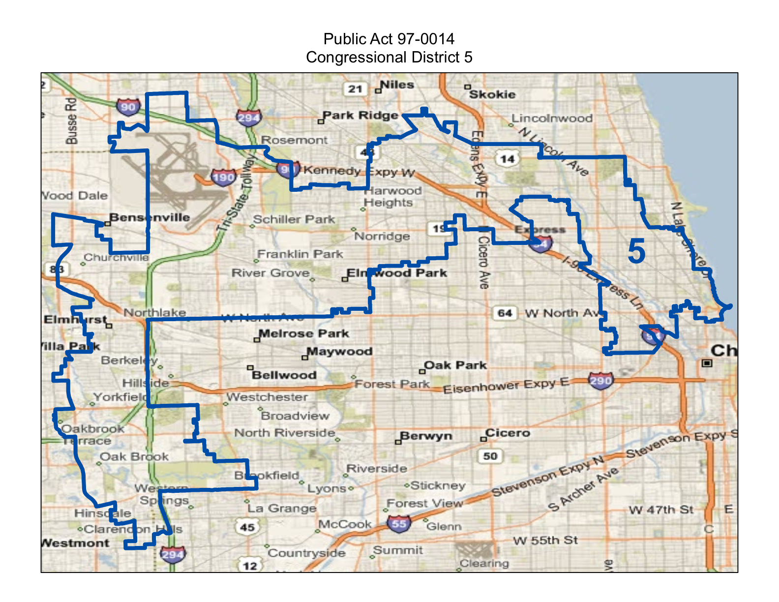 Map Illinois Congressional Districts Afputracom - Illinois 13th congressional district