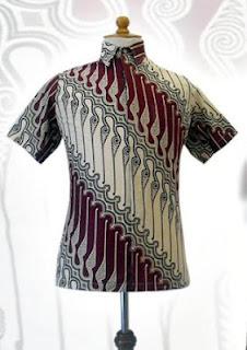 baju batik pria terbaru